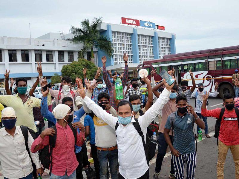 مهاجرون شراميك اكسبرس البنغال بيهار رانشي الهند