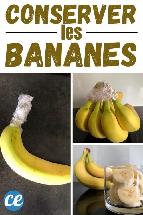 كيفية تخزين الموز