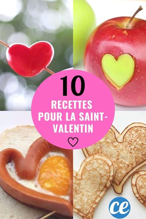 عيد الحب: 10 وصفات على شكل قلب يمكن لأي شخص صنعها!
