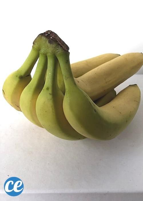 حفنة الموز الأخضر