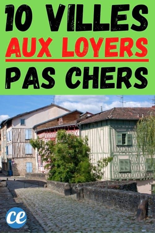 مدينة في فرنسا بإيجارات رخيصة