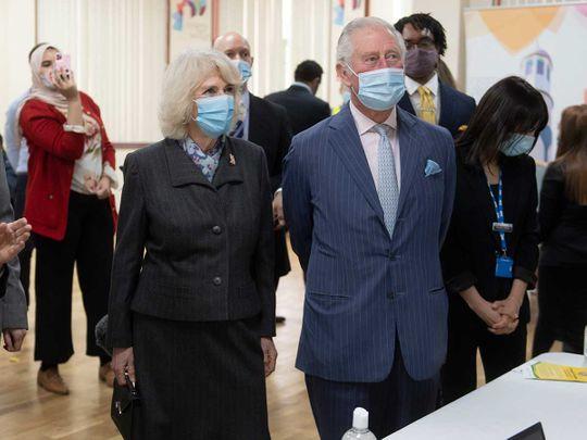 الأمير البريطاني تشارلز وكاميلا دوقة كورنوال