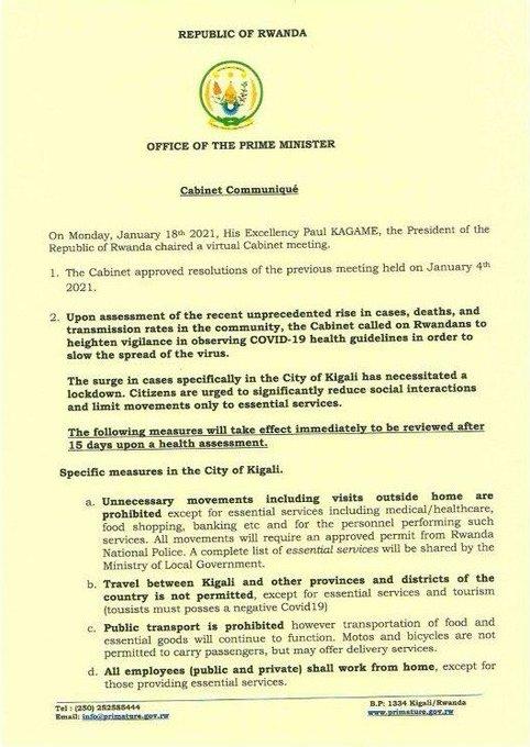 كوفيد -19: بول كاغامي يصبح أول زعيم شرق أفريقي يحصل على اللقاح