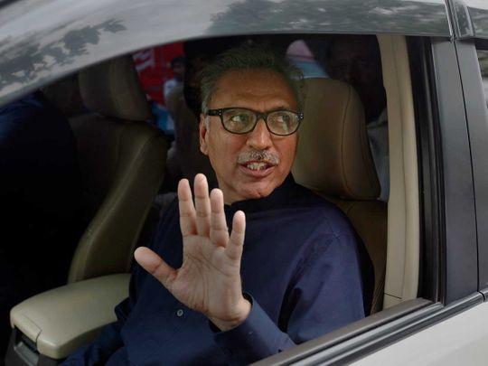 عارف علوي رئيس باكستان
