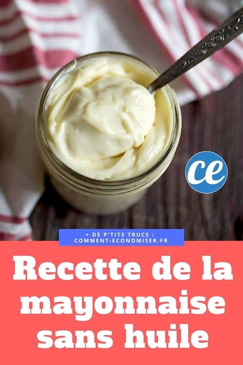 وصفة مايونيز سهلة وسريعة بدون زيت
