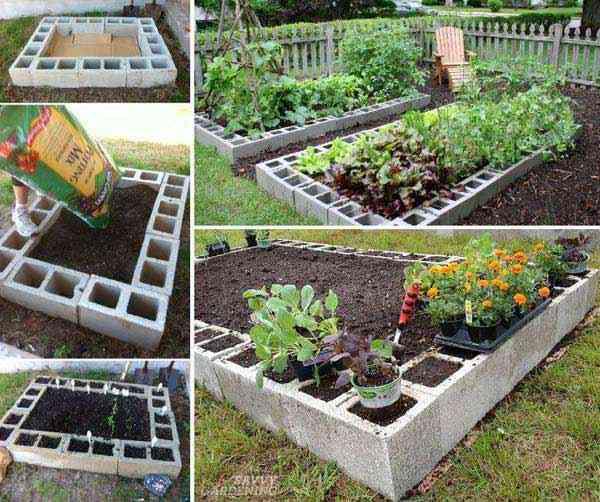 كيف تصنع حديقة مرتفعة بسهولة
