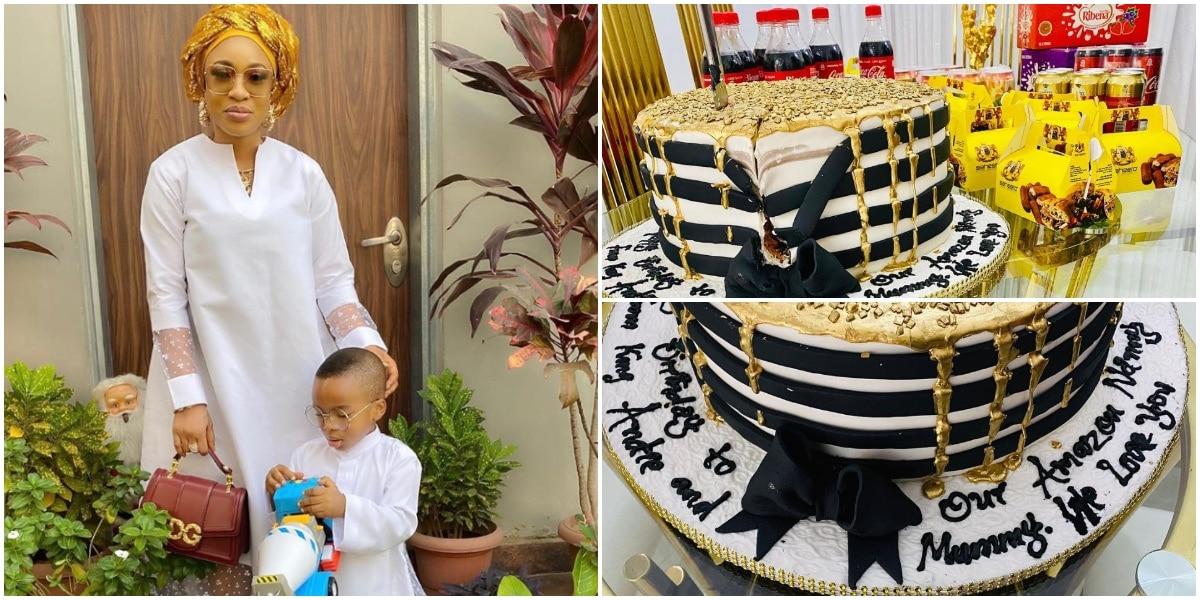 بعد عام من إعطائه iPhone 11 ، يفاجئ Tonto Dikeh مربية ابنه مرة أخرى في عيد ميلاده