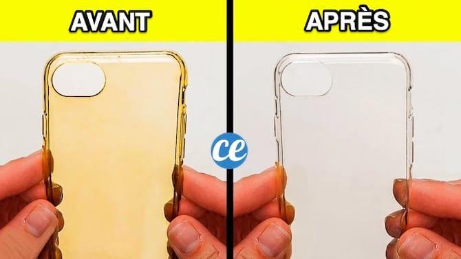 كيفية تنظيف وتبييض حافظة الهاتف التي اصفرت؟