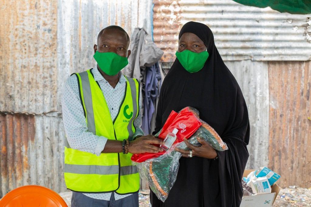 """ساحل العاج/ """"النفايات والصحة وكوفيد"""