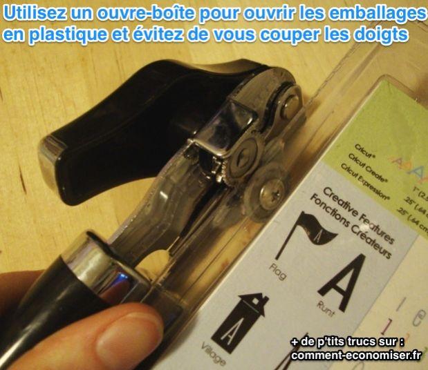 إليك كيفية فتح العبوة البلاستيكية دون قطع أصابعك