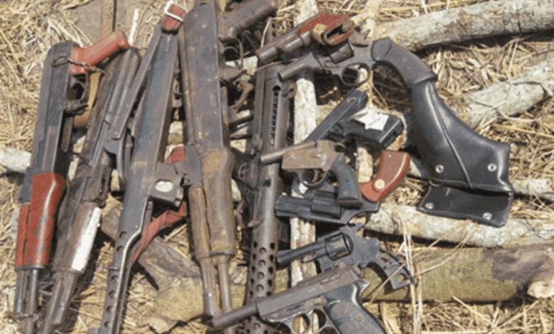 صورة الأسلحة الخفيفة