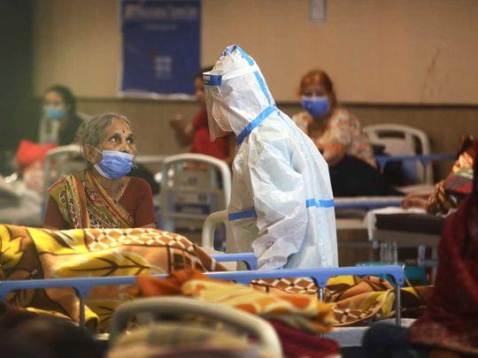 كوفيد عامل صحي في الهند