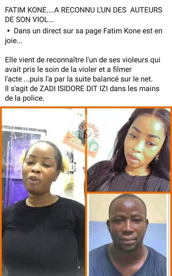 ساحل العاج / مقتل سارة غاندون: القبض على مشتبه به