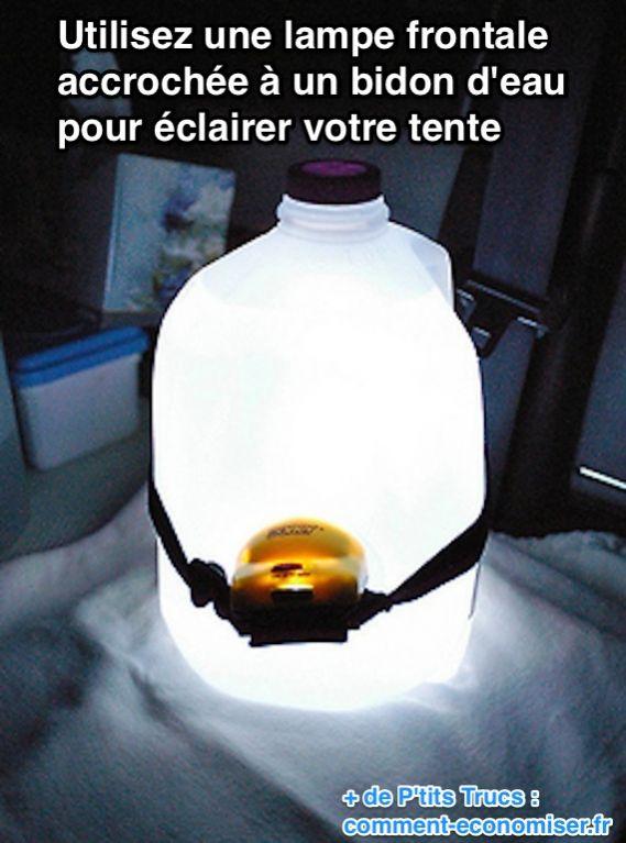 مصابيح أمامية معلقة على علبة لإضاءة الجو العام