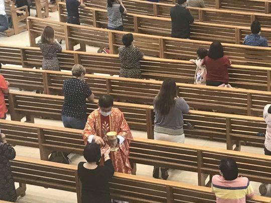 خدمة الكنيسة- القديس أنطونيوس 1617116328068