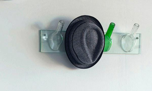 زجاجات حامل قبعة