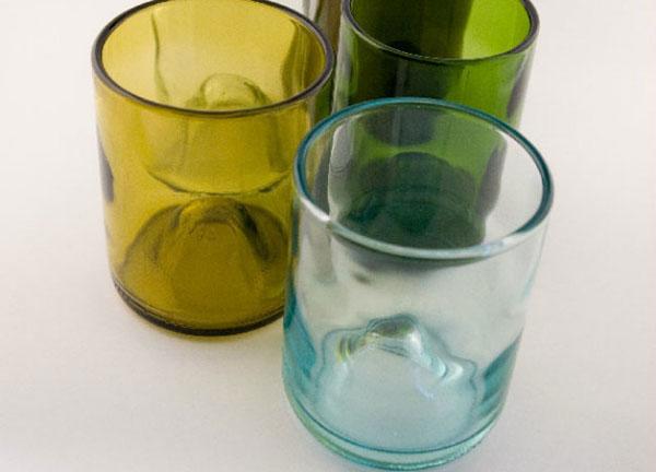 زجاجات زجاجية