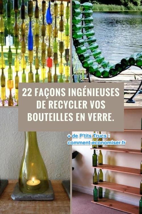 أفكار إبداعية لإعادة تدوير الزجاجات وتحويلها إلى أشياء زخرفية