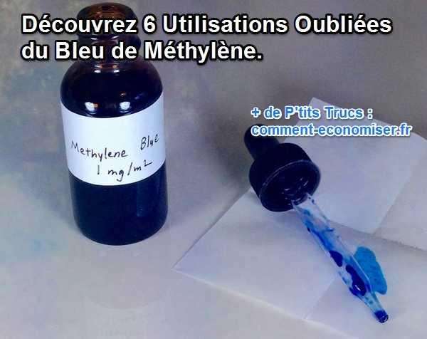 يستخدم الميثيلين الأزرق 6 للصحة أو حوض السمك