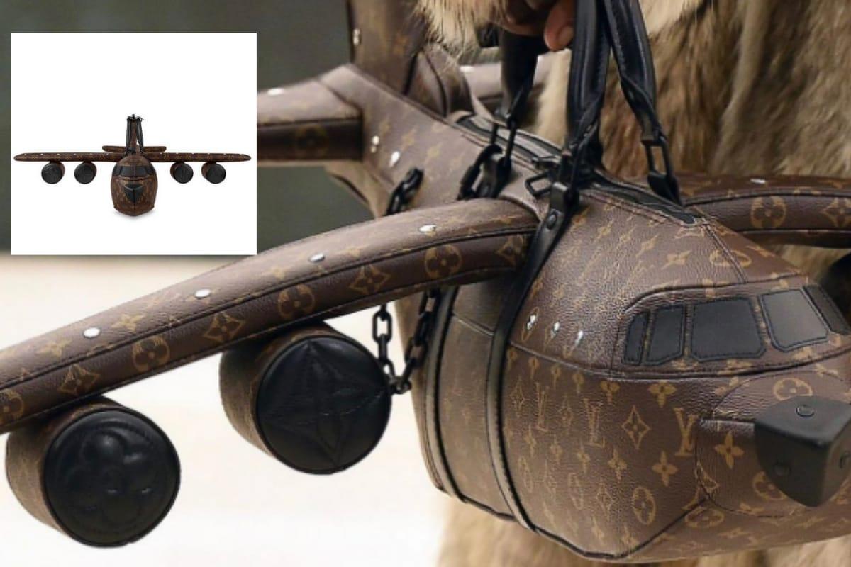 تكلف حقيبة Louis Vuitton على شكل طائرة أكثر من تكلفة طائرة حقيقية