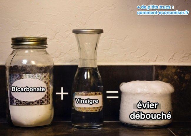 بيكربونات + خل لفك الحوض