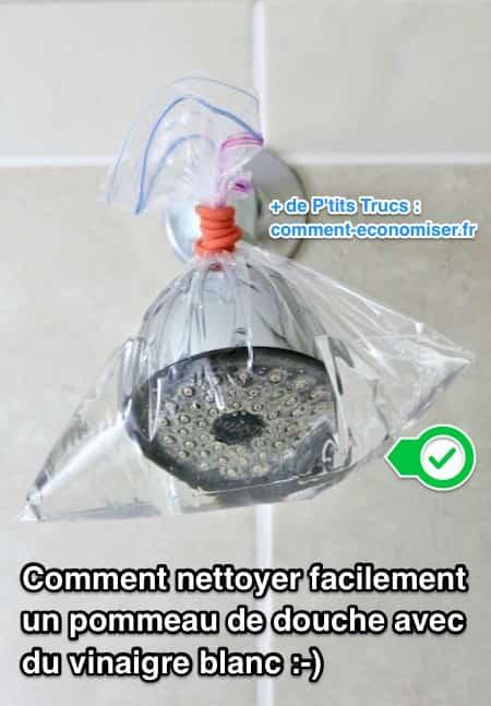 كيفية تنظيف رأس الدش لإزالة الجير بدون مواد كيميائية