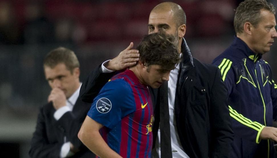 رجل.  المدينة: تعاقد بيب جوارديولا مع أكثر لاعب مكروه في برشلونة