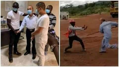 سيراليون: عامل منجم صيني يهاجم سيراليونيًا في موقع تعدين - (فيديو)