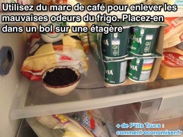 كيفية التخلص من الروائح الكريهة في الثلاجة من القهوة المطحونة