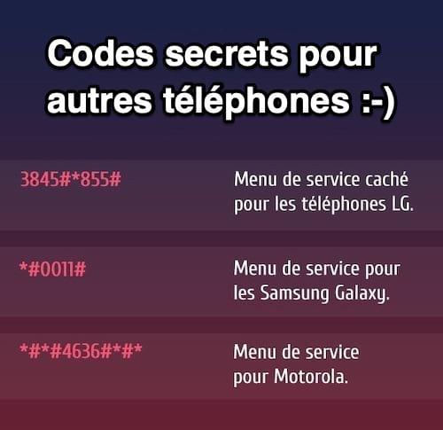 3 رموز سرية للهواتف المحمولة من إل جي وسامسونج وموتورولا تتيح الوصول إلى الوظائف المخفية