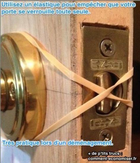 اربط رباطًا مطاطيًا حتى لا يغلق الباب